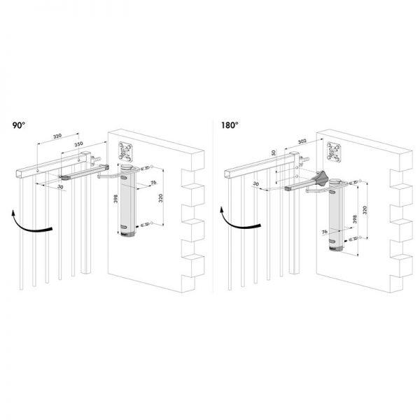 LOCINOX-vartu-pritraukiklio-verticlose-2-wall-montavimo-schema